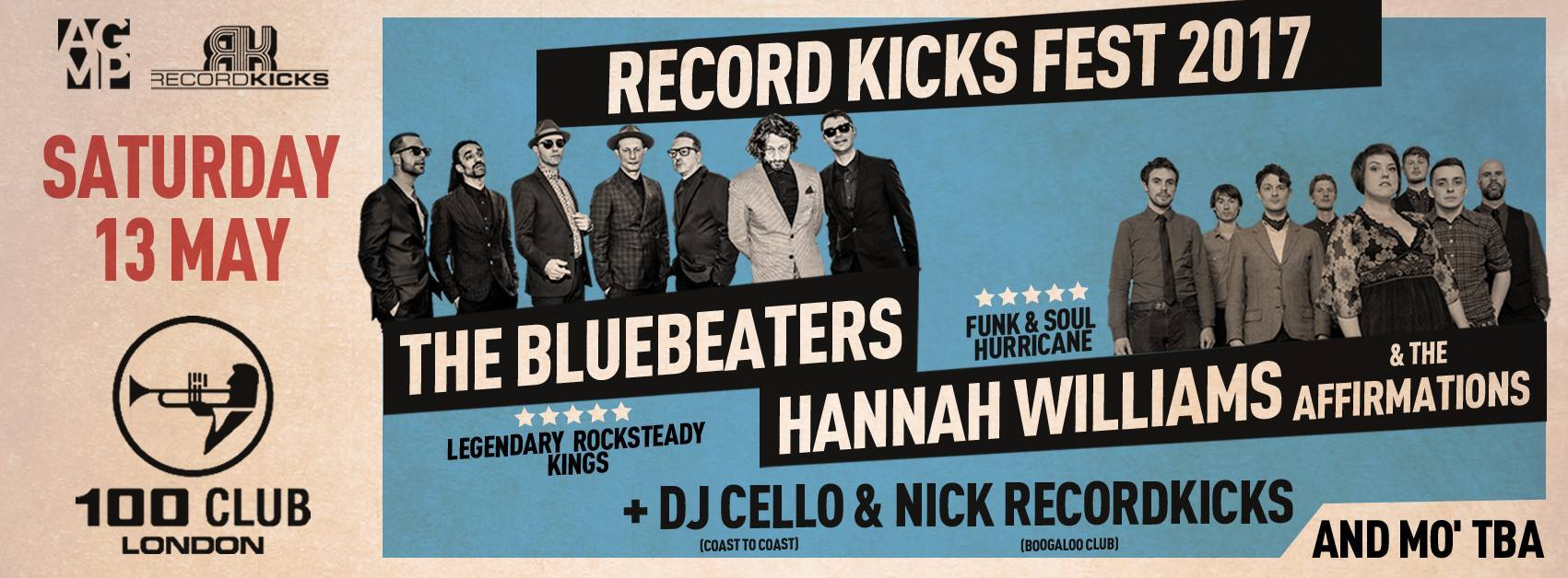 The Bluebeaters and Hannah Williams