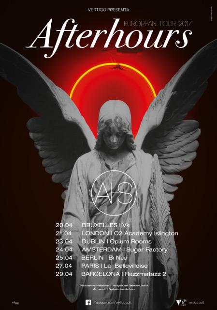 Afterhours European tour 2017