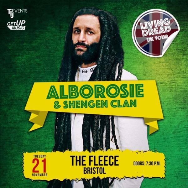 Alborosie live in Bristol