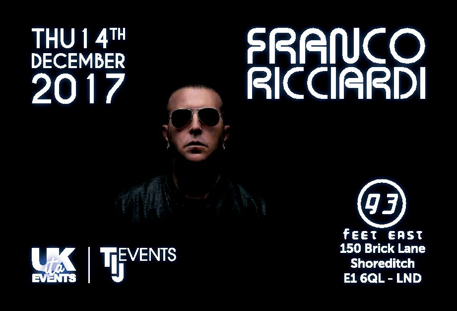 FRANCO RICCIARDI live in London