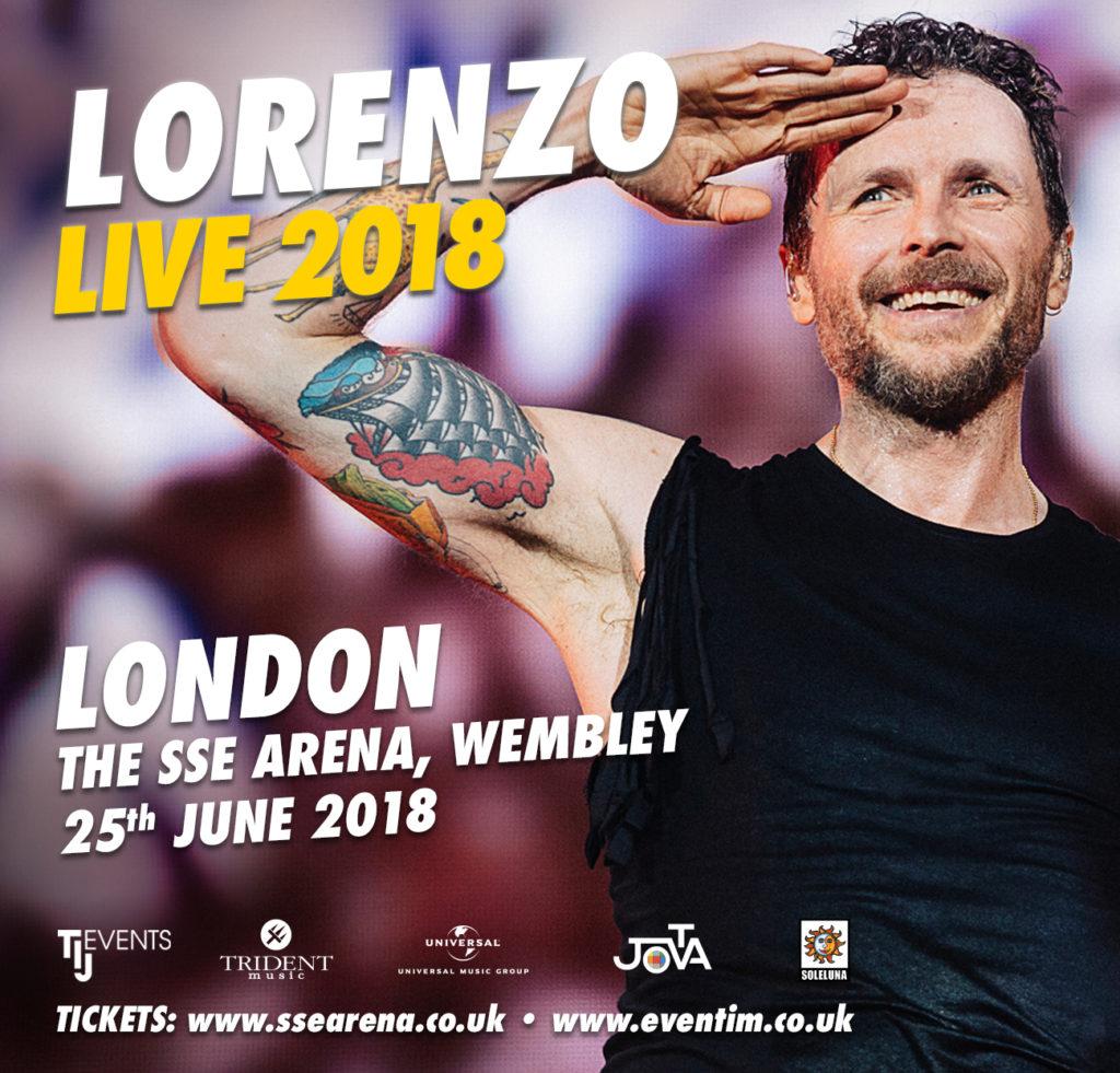 Lorenzo Jovanotti at the SSE Wembley Arena